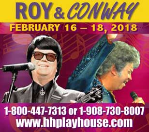 ROY AND CONWAY in Hunterdon Hills Playhouse
