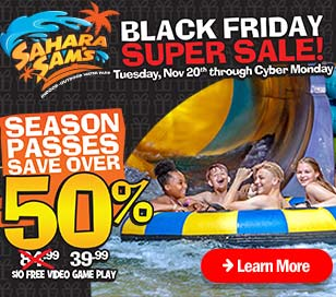 BLACK FRIDAY SUPER SALE! in Sahara Sam's Oasis