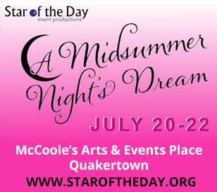Star of the Day Event Productions presents one of William Shakespeare's most loved comedies, A Midsummer Night's Dream. Lysander loves Hermia, and Hermia loves Lysander. Helena loves Demetrius; Demetrius used to love Helena but now loves Hermia. Egeus, Hermia's father, prefers Demetrius as a suitor, and enlists the aid of Theseus, the Duke of Athens, to enforce his wishes upon his daughter.