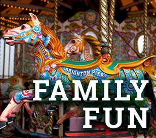 Fun for the whole family - sports, zoos, amususement parks, shows, festivals, and more