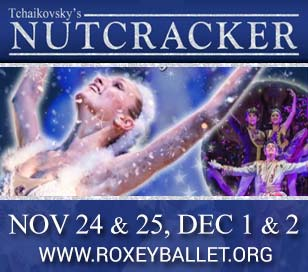 ROXEY BALLET'S 23RD ANNUAL HOLIDAY CLASSIC NUTCRACKER - SCHOOL SHOW in TCNJ Kendall Theater